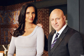 Host Padma Lakshmi and Judge/Chef Tom Colicchio of 'Top Chef'