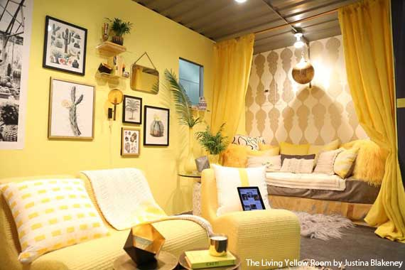 Living Yellow With YP at Dwell on Design