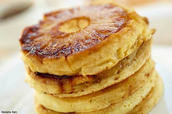 Snooze Pineapple Upside Down Pancakes
