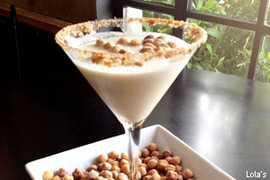 Reese's Puffs Martini at Lola's