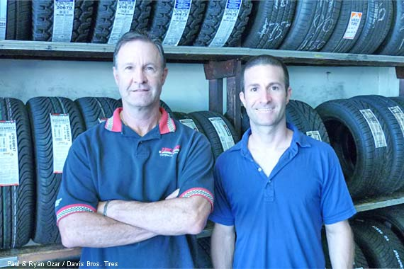 Paul & Ryan Ozar from Davis Bros. Tires
