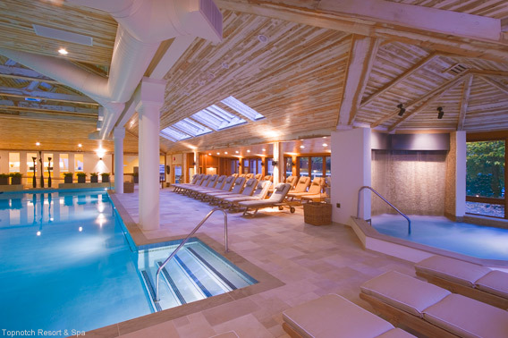 Topnotch Resort and Spa Indoor Swimming Pool
