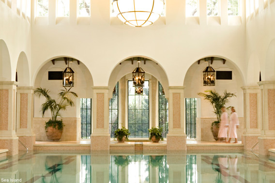 Sea Island Resort Indoor Swimming Pool