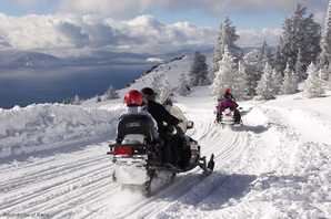 Adventures of Reno Snowmobiling
