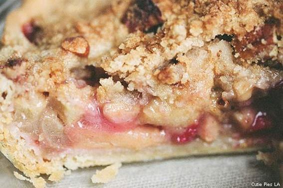 Apple-Cran with Pecan Crumble at Cutie Pies LA