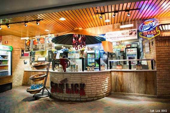 Salt Lick Bar-B-Que at Austin-Bergstorm International Airport