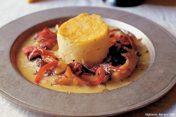 Baked Grits at Highlands Bar and Grill