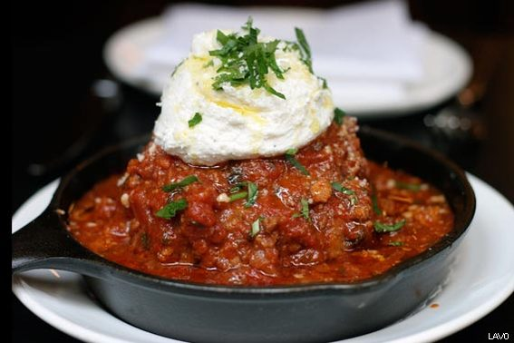 The 16 oz. Kobe Meatball at LAVO
