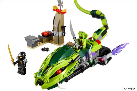 LEGO Ninjago: Lasha's Bite Cycle