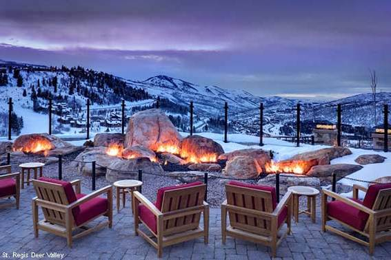 Garden of Fire at St. Regis Deer Valley