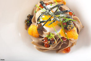 Buckwheat and Eggs at Asiate
