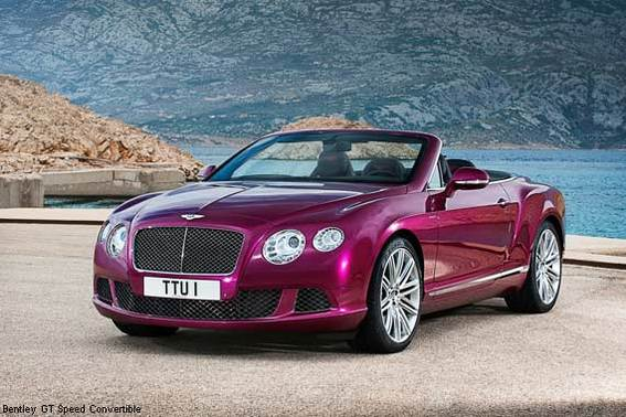 2013 Bentley GT Speed Convertible