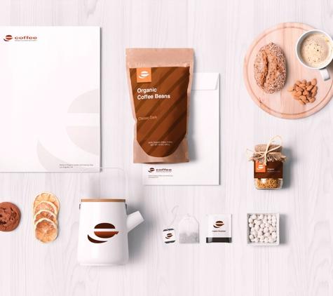 Amberd Design Studio - Los Angeles, CA. eCoffee stationery design
