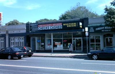 Forest Hills Check Cashing - Jamaica Plain, MA