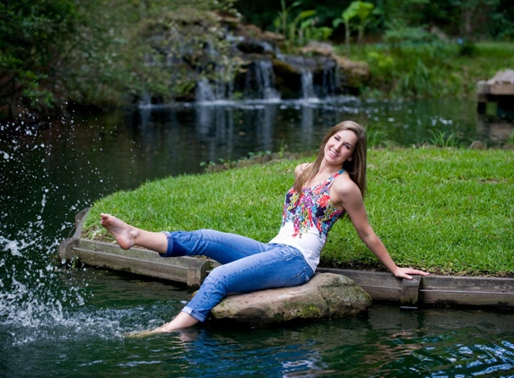 Nolan Conley Photography - Spring, TX. We have a pond and a waterfall!