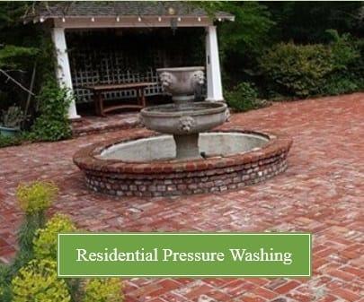 residential pressure washing