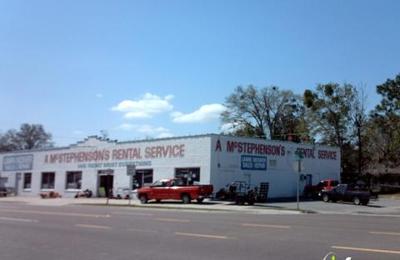A McStephensons Rental Service - Jacksonville, FL