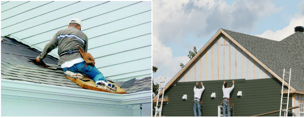 Roofing Siding Repair