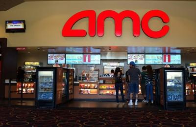 AMC Montebello 10 - Montebello, CA. The concession snacks bar.