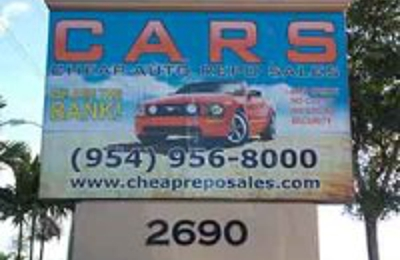 Cheap Auto Repo Sales - Pompano Beach, FL