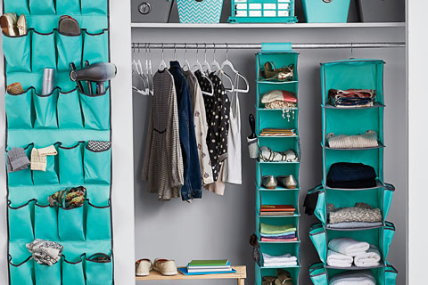 Organize your dorm at Bed, Bath and Beyond