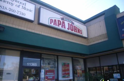 Papa John's Pizza - North Hollywood, CA