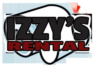 Full Size Logo Izzy's Rental - Bloomington - IN