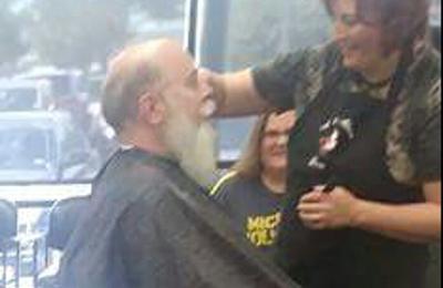 Precision Kuts - San Antonio, TX. Even Santa Clause gets his haircut by Precision Kuts