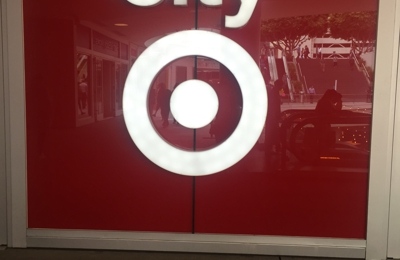 Target - Los Angeles, CA. Sign in front