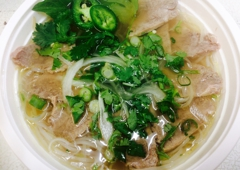 St. Charles Noodle - New Orleans, LA. #2 Well Done Beef Noodle Soup