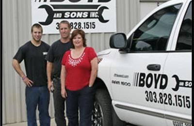Boyd & Sons - Erie, CO