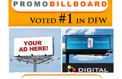 Promo Billboard Outdoor Advertising Dallas - Dallas, TX