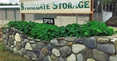 Stonegate Storage - Wasilla, AK. Front Entrance