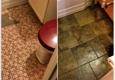 JW Development Corp. - New York, NY. Bathroom floor tile.