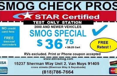 Smog Check Pros - Van Nuys, CA