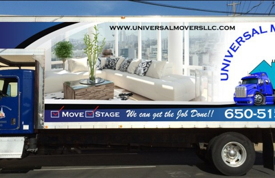Universal Movers - South San Francisco, CA. Universal Movers LLC Truck