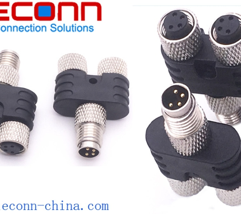 Fleconn Precision Industry (China) Co., Limited - Waukesha, WI. M8 Y Splitter Connector