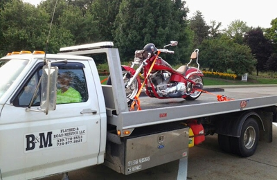 B & M Flatbed & Road Service - Harrisville, PA