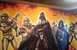 Kids Room Star Wars Wall Mural