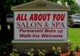 All About You Salon and Spa - New Port Richey, FL. 5426 Crafts St. New Port Richey
