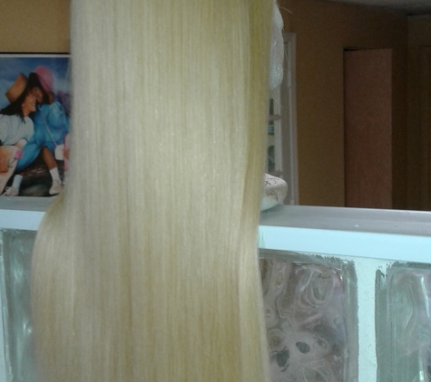 Razor Sharp Hair And Nail Salon - Fort Lauderdale, FL. Custom wig