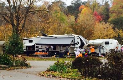 Huntington / Fox Fire KOA - Milton, WV. Fall camping at KOA