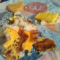 McDonald's - Weaverville, NC. Biscuit fell apart and the bacon was over cooked.
