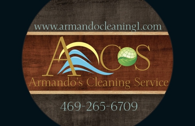 Armando's Cleaning Service - Dallas, TX. New Logo for 2018: Fresh, Clean & Sparkle! Eco-Friendly Products Available Upon Request.
