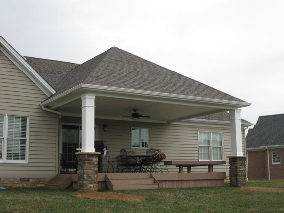 Sam Pitzulo Homes & Remodeling - Canfield, OH. Exterior Additions