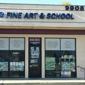 Min W Fine Art & School - Temple City, CA. Outside