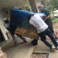 Cannonball Movers and Hot Tubs - Denver, CO. Moving a big dresser into a house