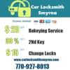 car Locksmith Smyrna
