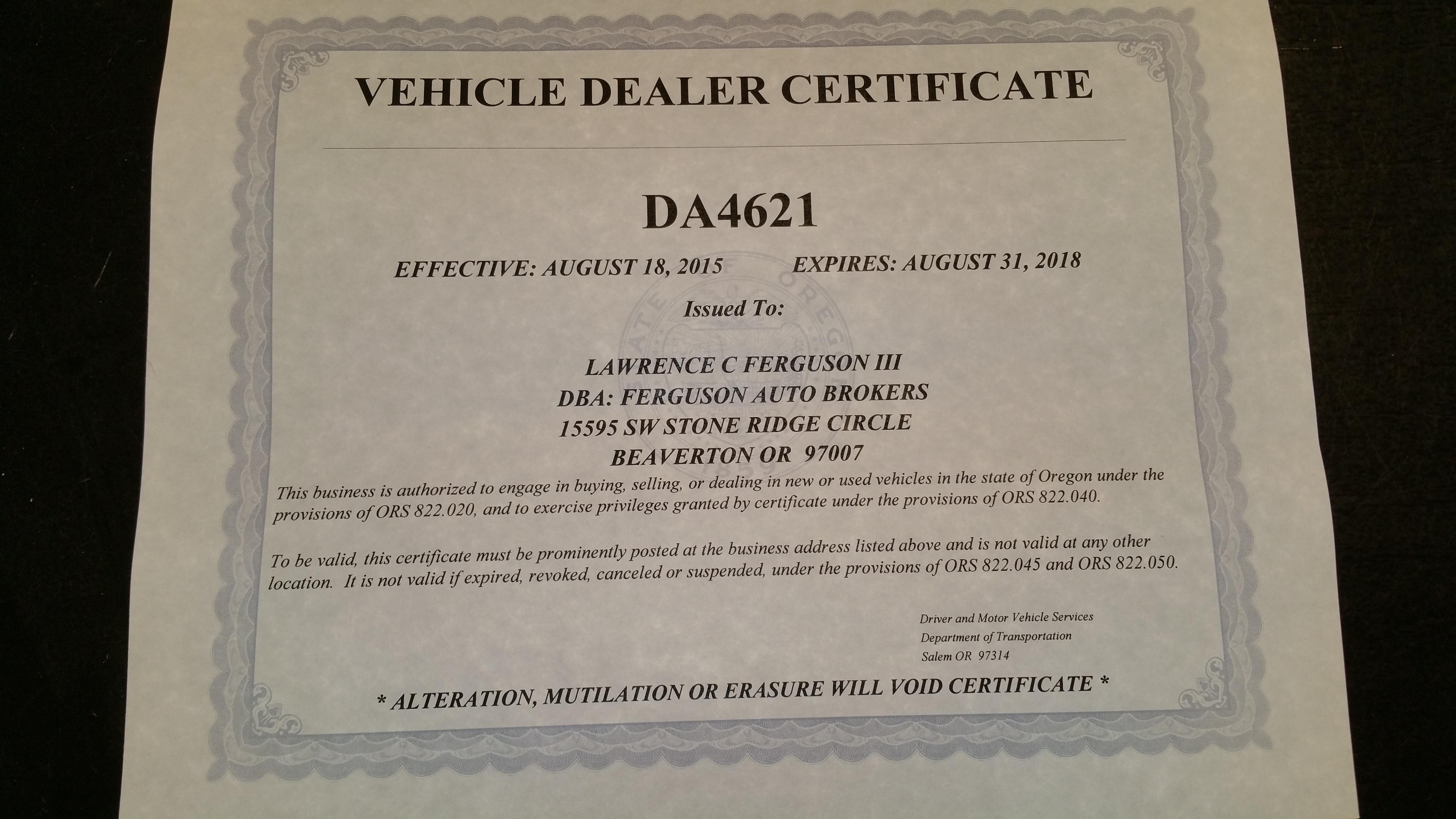 ferguson auto brokers beaverton or 97007 ypcom - How To Become A Auto Broker