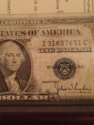 Value of this silver certificate 1928 D seris dollar bill